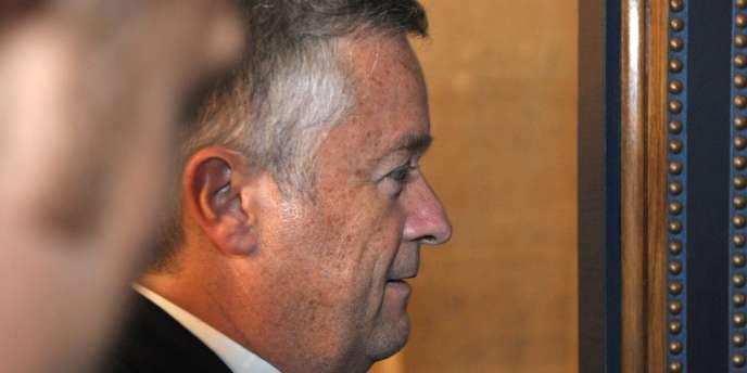 Jean-Marie Messier au palais de justice de Paris, jeudi 3 juin.