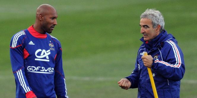 Nicolas Anelka a accablé l'ex-sélectionneur des Bleus Raymond Domenech.