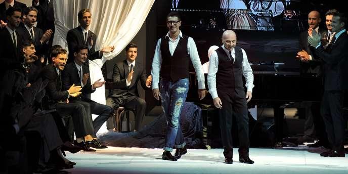 Les stylistes Domenico Dolce et Stefano Gabbana, qui comptent parmi leurs clients des célébrités comme Beyonce et Madonna, ont systématiquement rejeté les accusations à leur encontre.