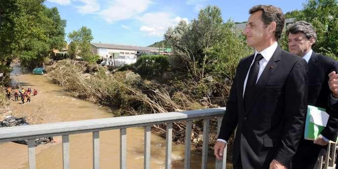 En visite dans le Var, Nicolas Sarkozy a annoncé que l'état de catastrophe naturelle sera décrété mardi 22 juin.