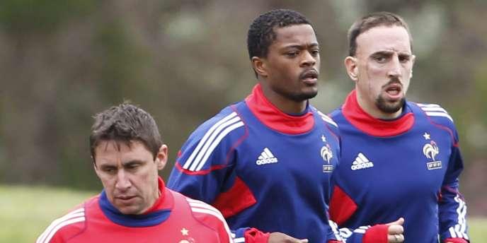 Evra et Ribéry sont de retour en équipe de France.