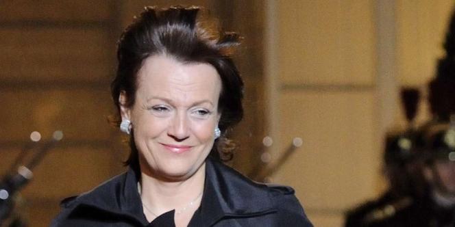 Florence Woerth à l'Elysée à Paris, le 2 mars 2010.