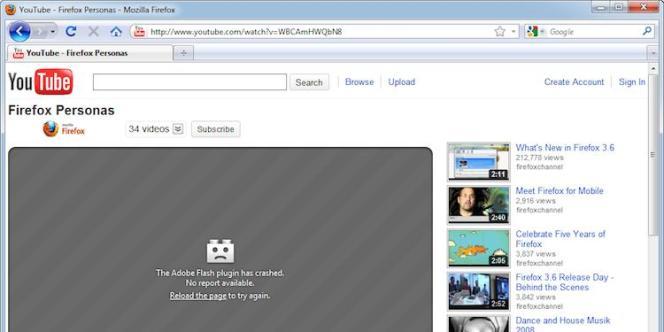 La nouvelle mouture de Firefox.