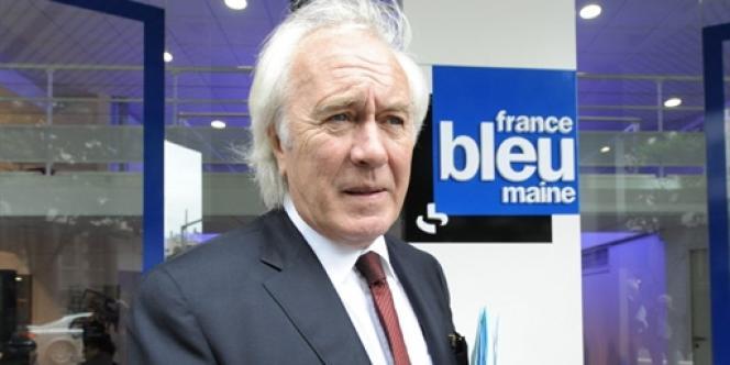 Le président de Radio France, Jean-Luc Hees, au Mans, le 1er juin 2010.