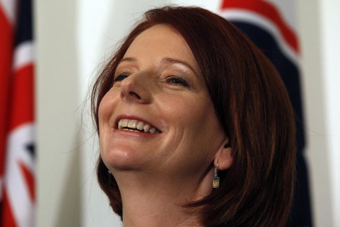 Julia Gillard classée parmi l'aile gauche du Parti travailliste, a su rallier des appuis suffisants pour contester le leadership de Kevin Rudd.