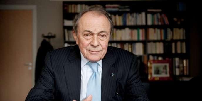 L'ancien premier ministre socialiste Michel Rocard, en janvier 2010 à Paris.
