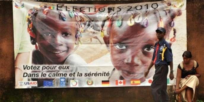 L'élection présidentielle de 2010 en Guinée est le premier scrutin libre depuis l'indépendance du pays, en 1958.