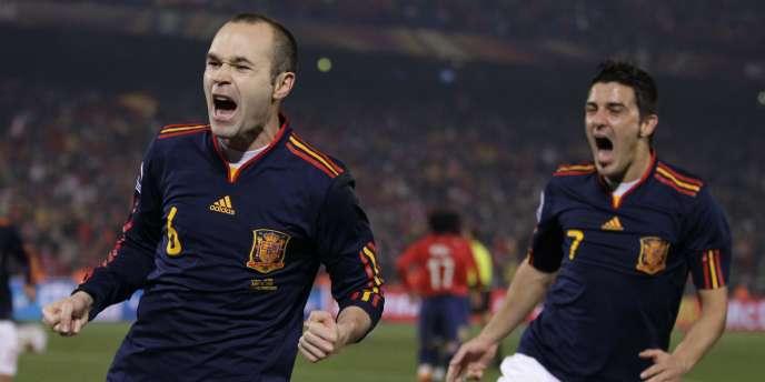 Iniesta et Villa ont fait la différence contre le Chili.