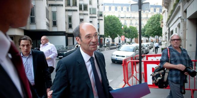 Eric Woerth, le ministre du travail, le 27 juin.