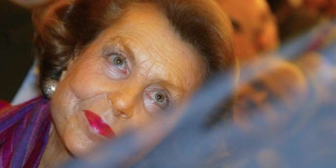 Liliane Bettencourt, novembre 2002