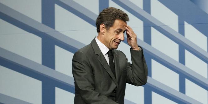 Nicolas Sarkozy au sommet du G20 à Toronto, le 27 juin 2010.