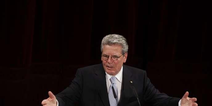 Le pasteur Joachim Gauck, 70 ans, le 22 juin 2010 à Berlin.