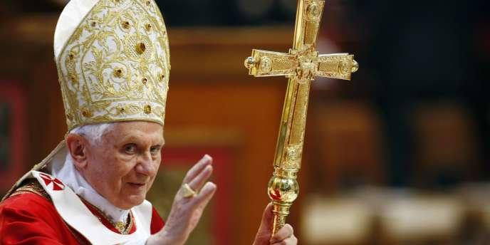Le pape Benoît XVI, le 29 juin 2010, au Vatican.