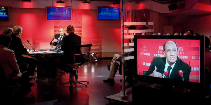 Eric Woerth, le 27 juin, lors de l'émission du Grand Jury RTL/LCI/Le Figaro.