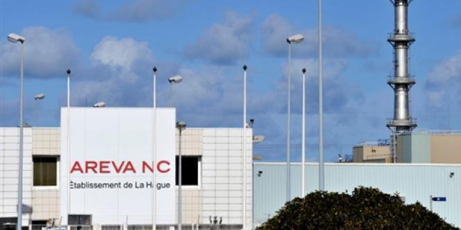 L'une des usines de traitement des déchets nucléaires d'Areva à la Hague, dans la Manche.