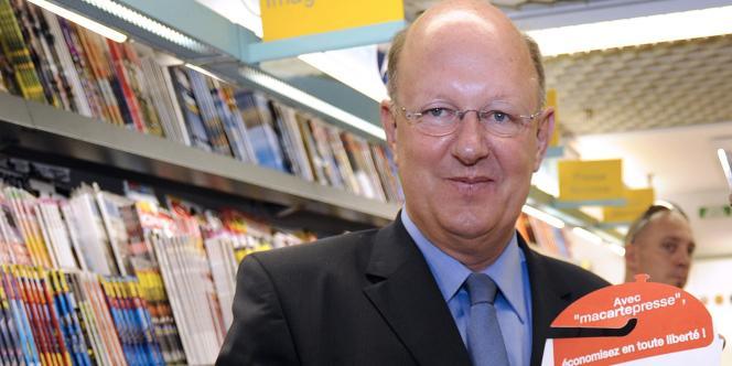 Rémy Pflimlin, le nouveau président de France Télévisions.