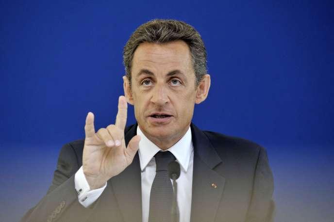 Nicolas Sarkozy, le 6 juillet 2010.