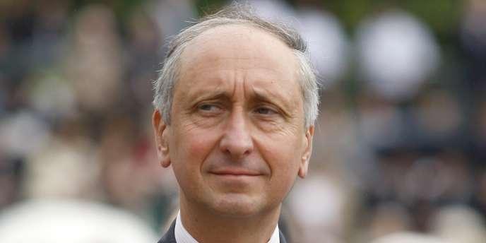 Le procureur de Nanterre, Philippe Courroye, le 18 juin 2010.