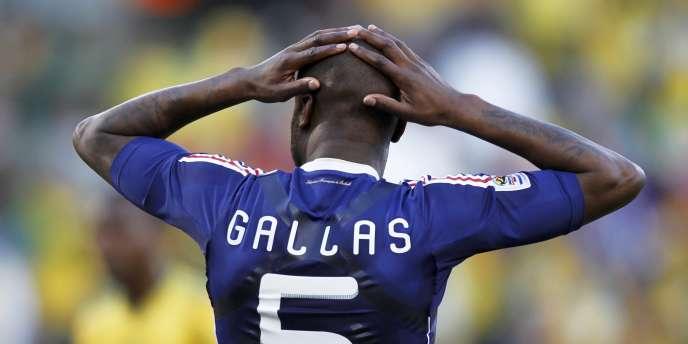 William Gallas le 22 juin.