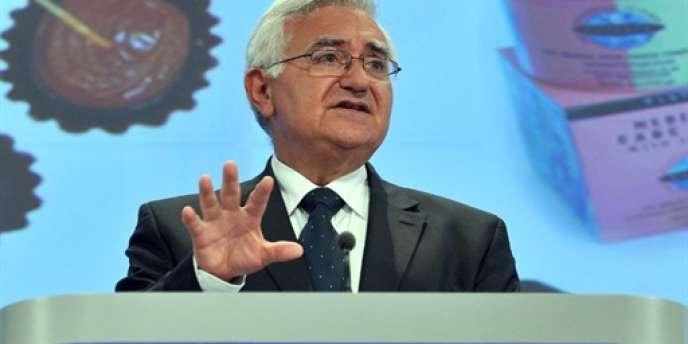 Le commissaire européen à la santé John Dalli, empêtré dans un scandale de corruption, a été contraint à la démission en novembre 2012.