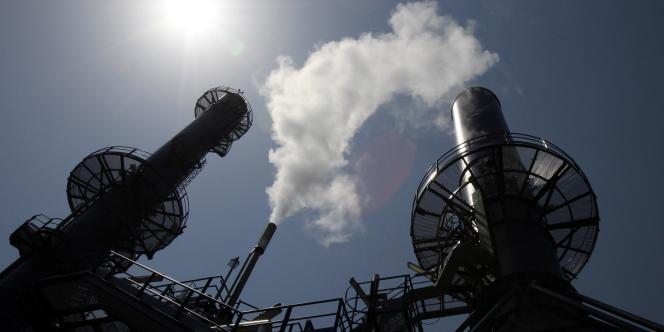 Une centrale électrique à Venise, en juillet 2010.