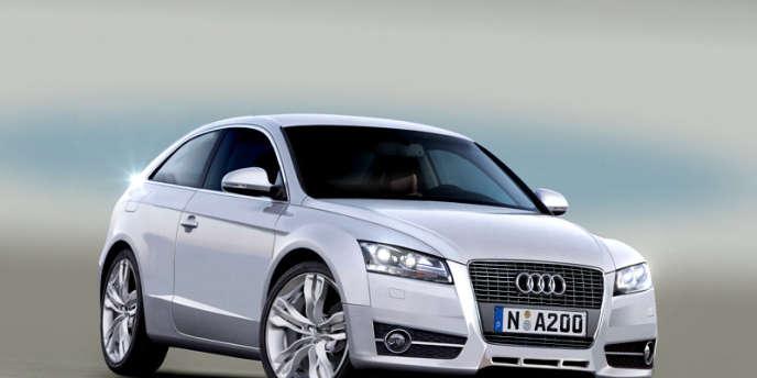 Sur le marché automobile chinois, c'est bien Audi - ici, une Audi A1 - qui est le symbole du luxe.