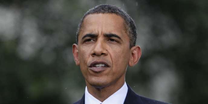 Barack Obama lors d'une conférence de presse, le 15 juillet, après le vote du Sénat sur la réforme du secteur financier.
