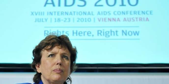 Roselyne Bachelot, le 19 juillet, à Vienne (Autriche).