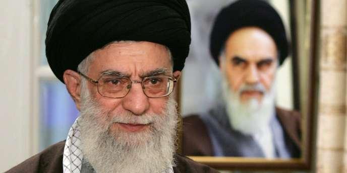 L'ayatollah iranien Ali Khamenei.