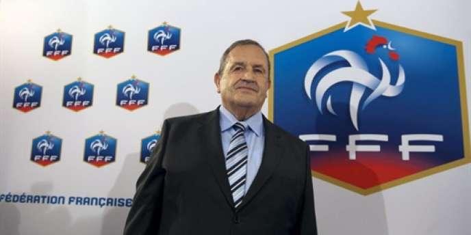 Fernand Duchaussoy, président de la FFF.