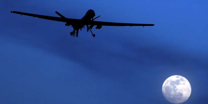 Décollage d'un drone Predator, en janvier 2010.