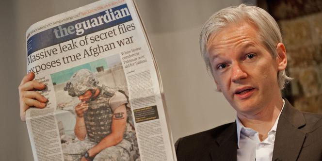 Le fondateur de Wikileaks, Julian Assange., le 26 juillet 2010.