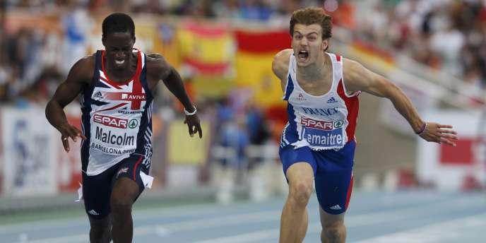 Christophe Lemaitre tentera de confirmer à Bercy les résultats obtenus à Barcelone à l'été 2010.