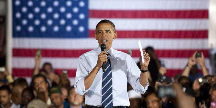 Le président américain a défendu le bilan de son plan de sauvetage de l'industrie automobile devant près de 1 500 ouvriers du secteur, à Detroit.