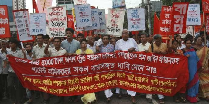 A Dacca, le 28 juillet 2010.