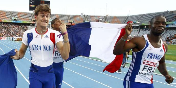 Christophe Lemaitre est devenu le premier athlète français de l'histoire à réaliser un triplé dans un grand rendez-vous.