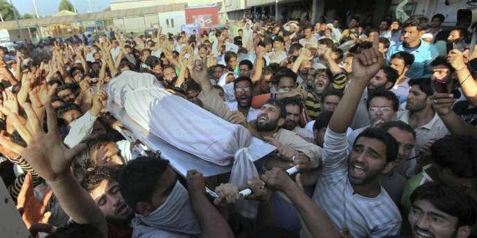 Ces violences sont les pires depuis deux ans au Cachemire indien.