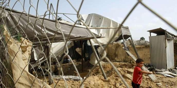 L'aviation israélienne avait mené dimanche deux raids contre des tunnels servant à la contrebande dans la bande de Gaza.