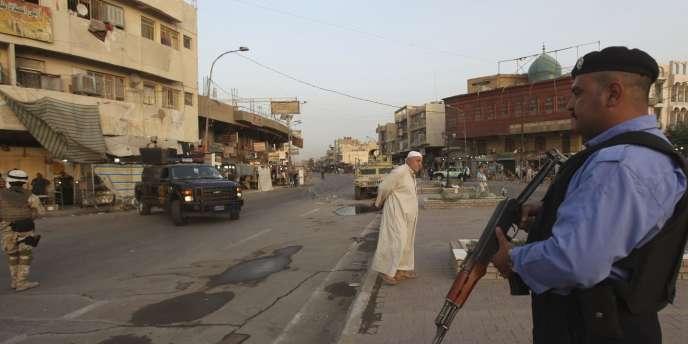 L'attaque s'est produite à un poste de contrôle dans l'ouest de la capitale irakienne.