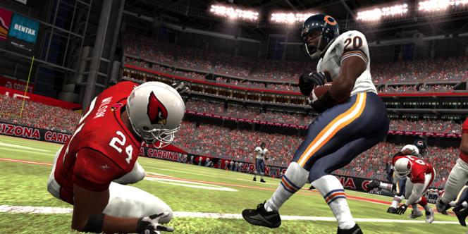 Le jeu Madden NFL 07, sur Playstation 3.