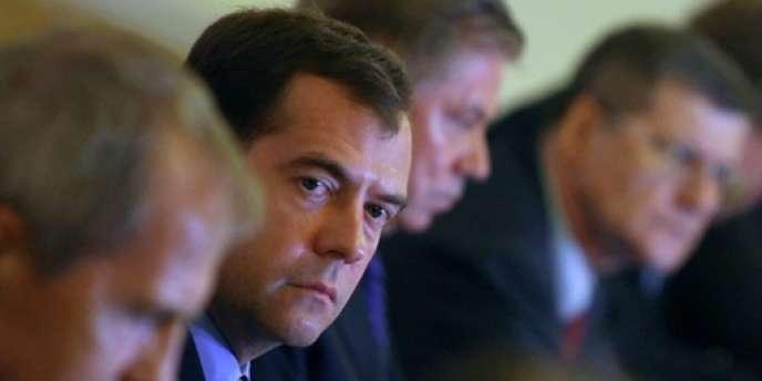 Le président russe Dmitri Medvedev en juillet 2010.