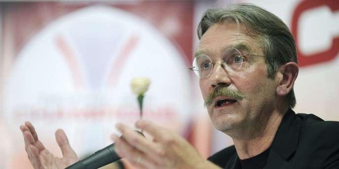 Frédéric Thiriez, président de la Ligue de football professionnel, en 2010.