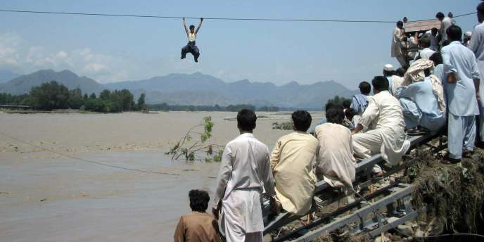 Dans la vallée de Swat (Pakistan), mardi 3 août.
