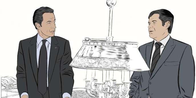 Briefing matinal à l'Elysée, dans le bureau du président. Nicolas Sarkozy interroge ses plus proches conseillers : que pensent l'opinion, la presse, le Tout-Paris ?