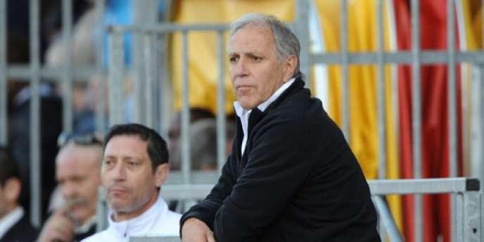 L'entraîneur de Montpellier, René Girard, espère une qualification européenne.