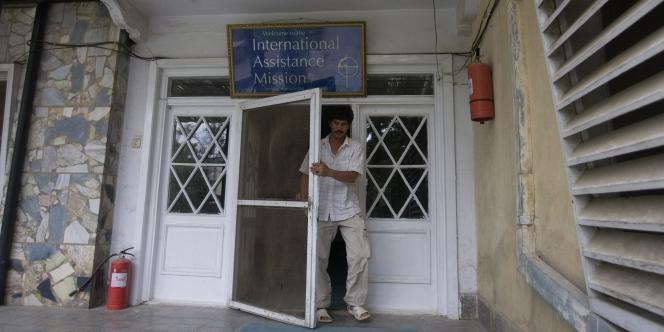 Les locaux de l'IAM (International Assistance Mission), à Kaboul. Le 6 août, dix membres de cette ONG ont été assassinés.