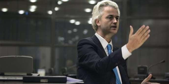Geert Wilders, à La Haye, le 15 juillet.