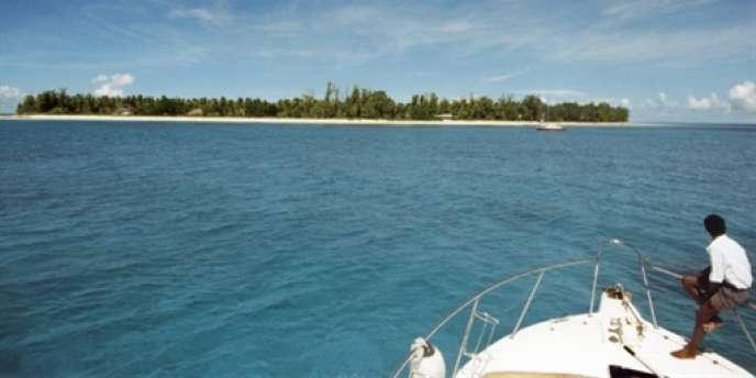 L'île seychelloise d'Arros, ancienne propriété de Liliane Bettencourt.