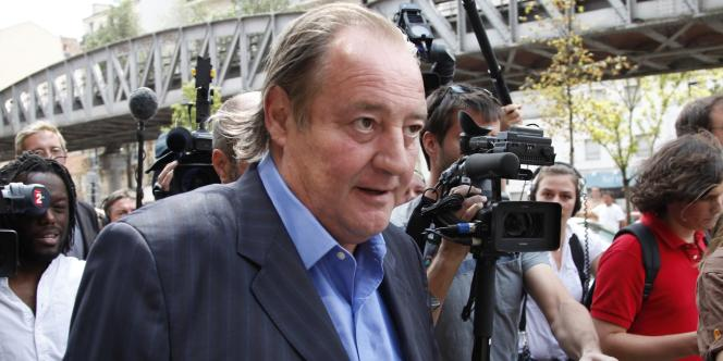 Gervais Martel, le 23 juillet 2010.