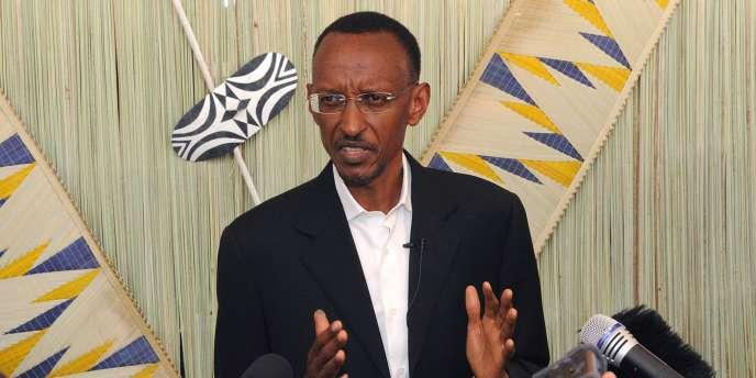 Le président du Rwanda, Paul Kagame.